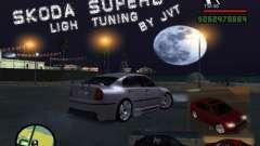 Skoda Superb Light Tuning for GTA San Andreas