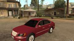 Hyundai Azera 2009 for GTA San Andreas