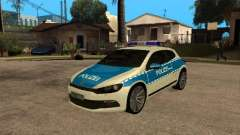 Volkswagen Scirocco German Police for GTA San Andreas