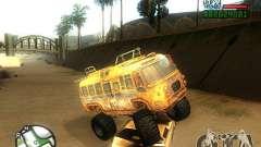 Bullet Storm Bus