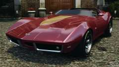 Chevrolet Corvette Sting Ray 1970 Custom for GTA 4
