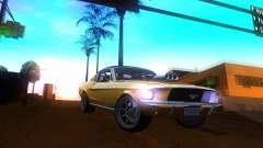 Ford Mustang 1967 GT Tuned for GTA San Andreas