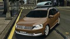 Volkswagen Passat Variant B7 for GTA 4