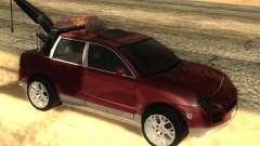 Porsche Cayenne Towtruck for GTA San Andreas