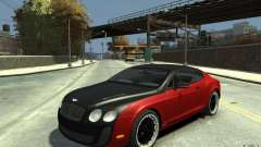 Bentley Continental GT SS for GTA 4