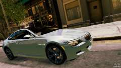 2010 BMW M6 silver for GTA 4
