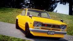 Nissan Skyline 2000 GT-R for GTA 4