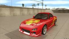 Mazda RX-7 - FnF2 for GTA San Andreas