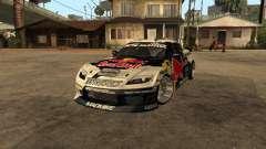 Mazda RX-8 RedBull for GTA San Andreas