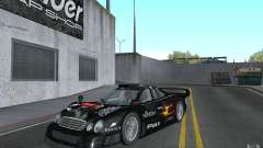 Mercedes-Benz CLK GTR road version (v2.0.0) for GTA San Andreas