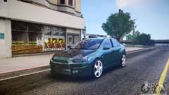 Mitsubishi Lancer Evo X Drift
