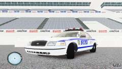 Ford Crown Victoria 2003 NYPD for GTA 4