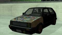Volkswagen Golf 2 Rat Style for GTA San Andreas