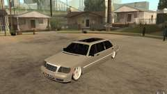 Mercedes-Benz S600 V12 W140 1998 VIP for GTA San Andreas