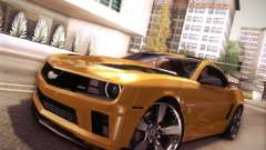 Chevrolet Camaro 2SS 2012 Bumblebee v.2.0 for GTA San Andreas