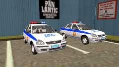 LADA 2170 Police