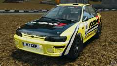 Subaru Impreza WRX STI 1995 Rally version for GTA 4