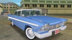 Plymouth Belvedere 1957 sport sedan for GTA Vice City