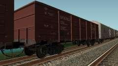 Open wagon cargo company