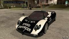 Pagani Zonda F Speed Enforcer BETA