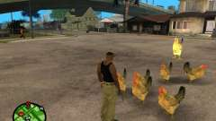 Chickens in GTA San Andreas for GTA San Andreas