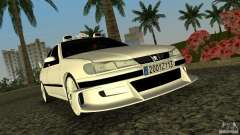 Peugeot 406 Taxi 2 for GTA Vice City