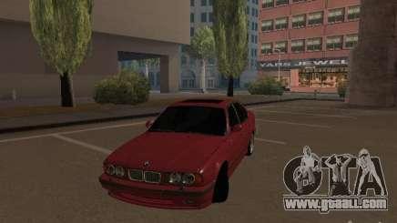BMW E34 M5 for GTA San Andreas