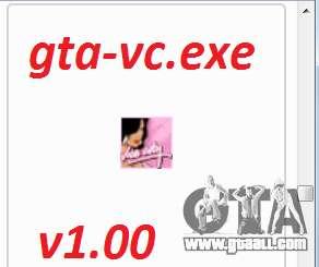 gta-vc.exe v1.00 for GTA Vice City