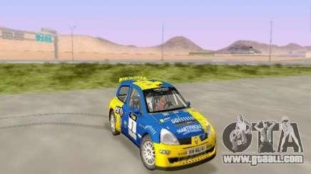 Renault Clio Super 1600 for GTA San Andreas