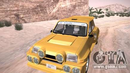 Renault 5 Turbo for GTA San Andreas