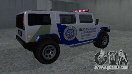 NOOSE Patriot from GTA 4 for GTA San Andreas