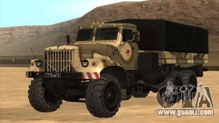KrAZ v1.0 for GTA San Andreas
