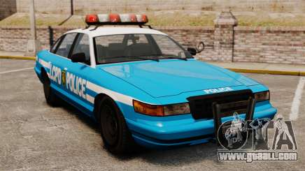 Vapid Police Cruiser ELS for GTA 4
