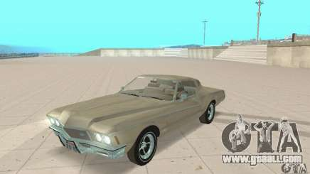Buick Riviera 1972 Boattail for GTA San Andreas