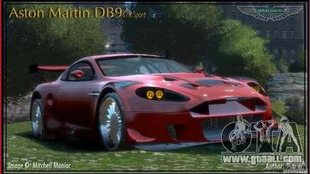 Aston Martin DB9 GTR SPORT [NFS Undercover] for GTA 4