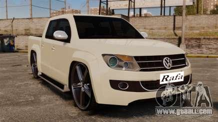 Volkswagen Amarok Light Tuning for GTA 4