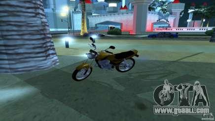 Yamaha YBR 125 for GTA San Andreas