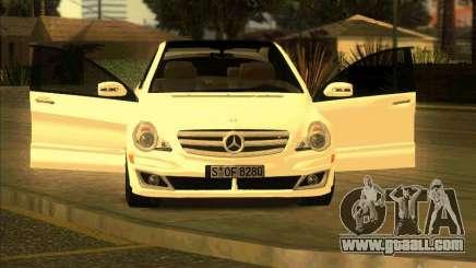 Mercedes Benz R350 for GTA San Andreas