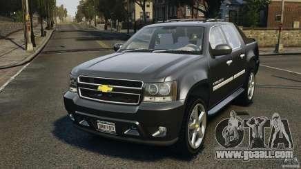 Chevrolet Avalanche Stock [Beta] for GTA 4