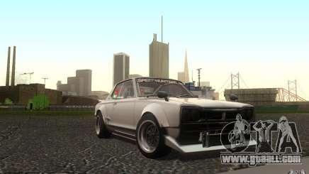 Nissan 2000GTR V2 for GTA San Andreas