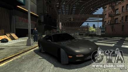 Mazda RX7 1995 Black [EPM] for GTA 4