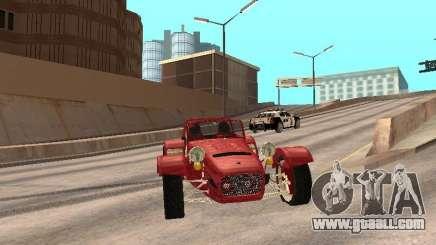Caterham CSR 260 for GTA San Andreas