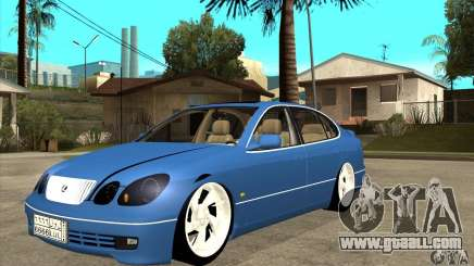 Lexus GS300 V 2003 for GTA San Andreas