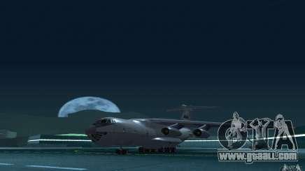 IL 78 Tanker for GTA San Andreas