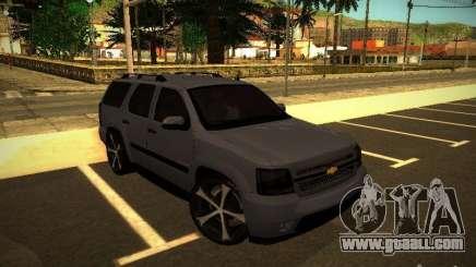 Chevrolet Tahoe HD Rimz for GTA San Andreas