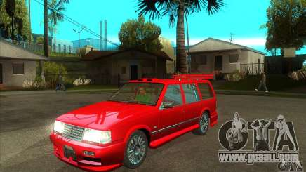 Volvo 945 Wentworth R with bodykit (1.2) for GTA San Andreas
