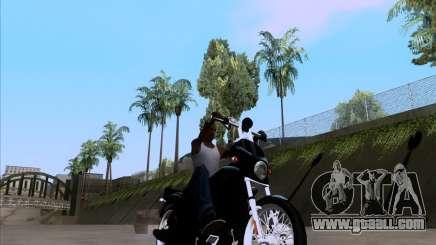 Harley Davidson FXD Super Glide for GTA San Andreas