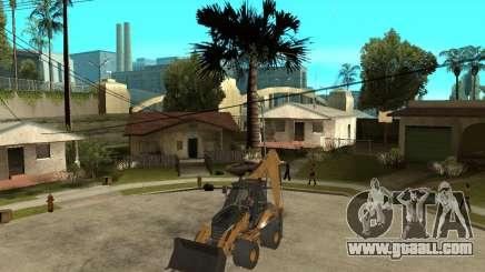 Lastik Tekerli Dozer for GTA San Andreas