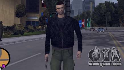 Claude HD from GTA III for GTA Vice City