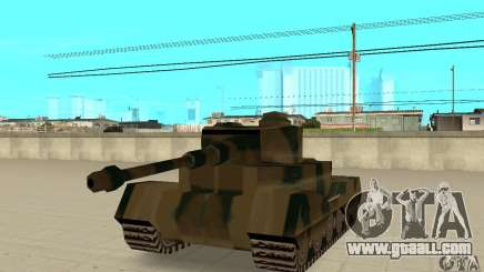 RL-Tiger Tank for GTA San Andreas